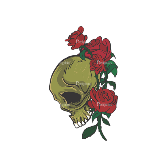Skull Vector Clipart 5-2 skulls pack 5 2 preview