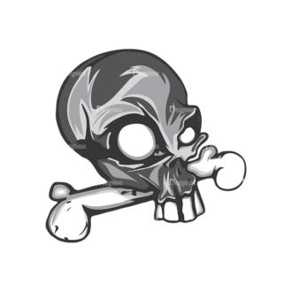 Skull Vector Clipart 5-5 Clip Art - SVG & PNG vector