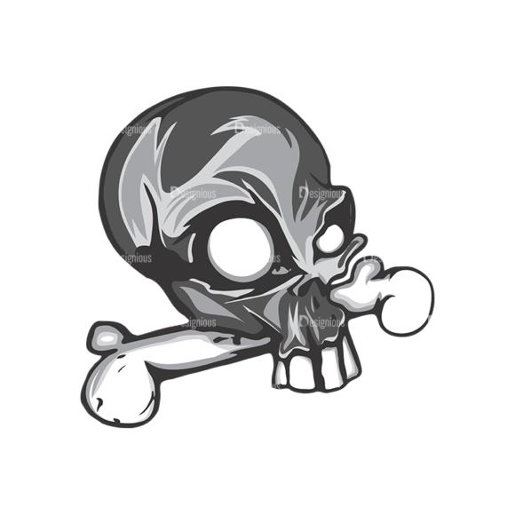 Skull Vector Clipart 5-5 skulls pack 5 5 preview