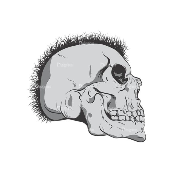 Skull Vector Clipart 6-6 Clip Art - SVG & PNG vector