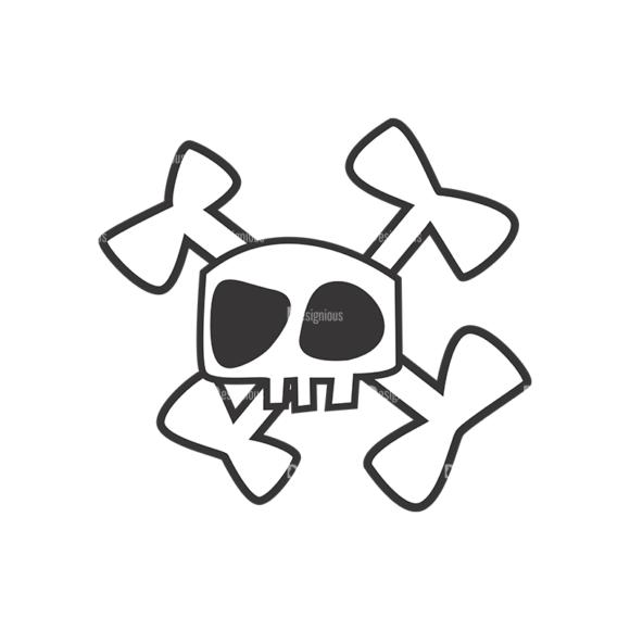 Skull Vector Clipart 7-11 skulls pack 7 11 preview