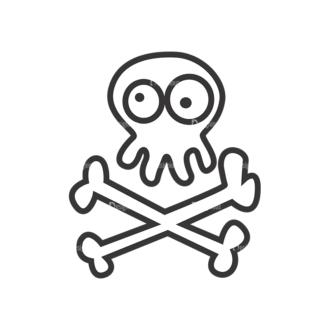 Skull Vector Clipart 7-12 Clip Art - SVG & PNG vector