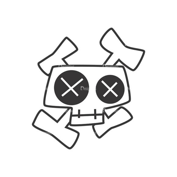 Skull Vector Clipart 7-13 Clip Art - SVG & PNG vector
