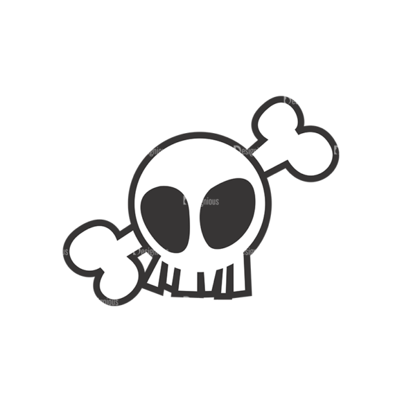Skull Vector Clipart 7-2 skulls pack 7 2 preview