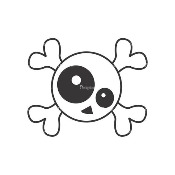 Skull Vector Clipart 7-20 skulls pack 7 20 preview
