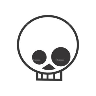 Skull Vector Clipart 7-21 Clip Art - SVG & PNG vector