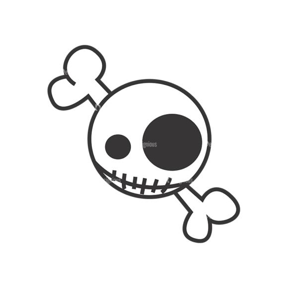 Skull Vector Clipart 7-24 Clip Art - SVG & PNG vector