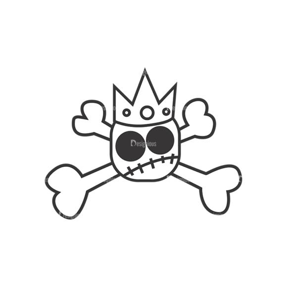 Skull Vector Clipart 7-26 Clip Art - SVG & PNG vector