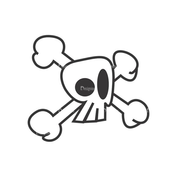 Skull Vector Clipart 7-3 skulls pack 7 3 preview