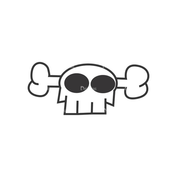 Skull Vector Clipart 7-4 skulls pack 7 4 preview