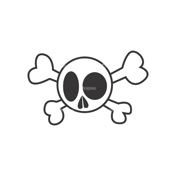 Skull Vector Clipart 7-5 Clip Art - SVG & PNG vector