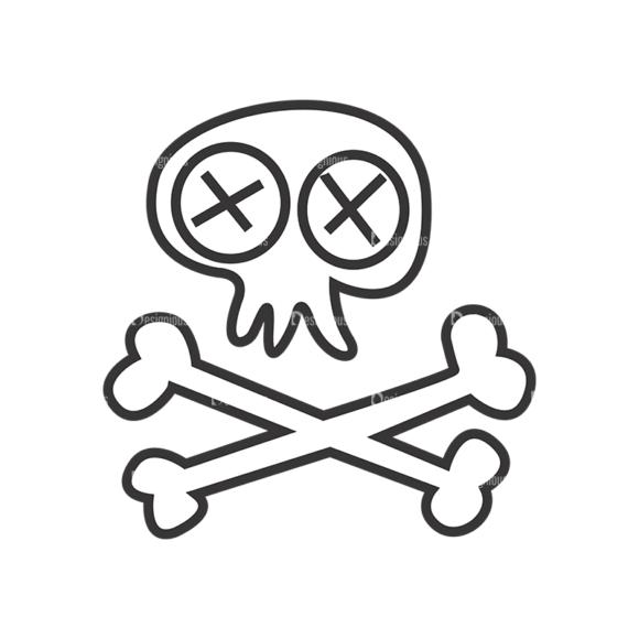 Skull Vector Clipart 7-6 skulls pack 7 6 preview