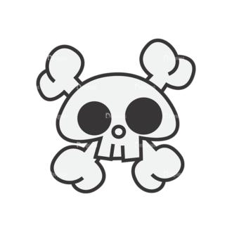 Skull Vector Clipart 7-8 Clip Art - SVG & PNG vector