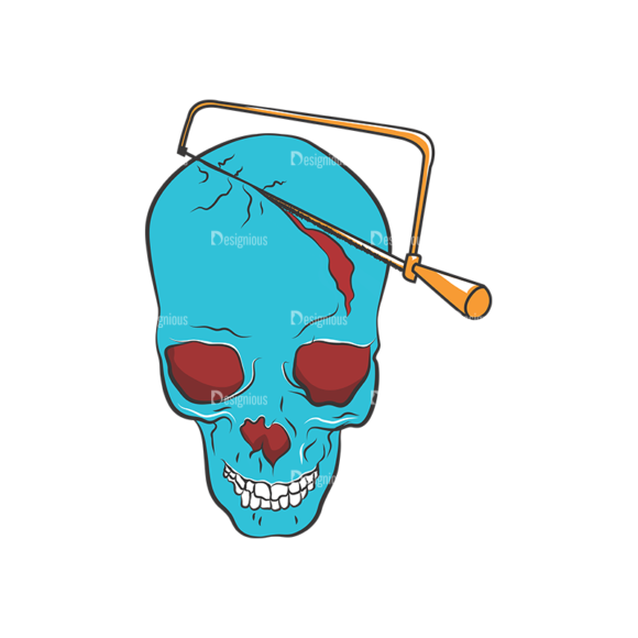 Skull Vector Clipart 8-1 Clip Art - SVG & PNG vector