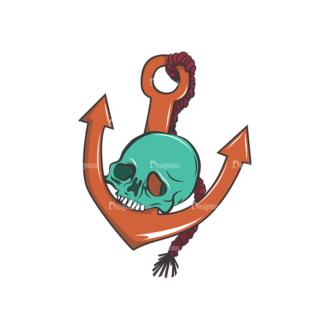 Skull Vector Clipart 8-10 Clip Art - SVG & PNG vector