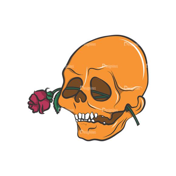 Skull Vector Clipart 8-12 Clip Art - SVG & PNG vector