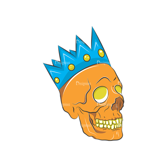 Skull Vector Clipart 8-2 Clip Art - SVG & PNG vector