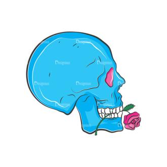 Skull Vector Clipart 8-3 Clip Art - SVG & PNG vector