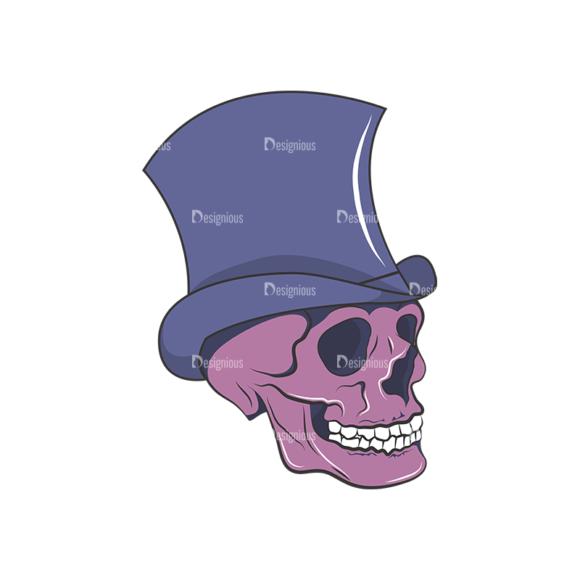 Skull Vector Clipart 8-4 Clip Art - SVG & PNG vector
