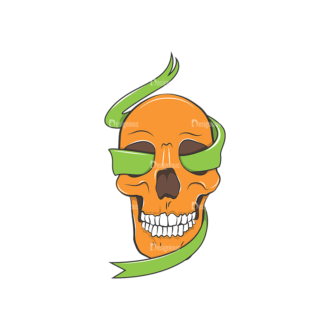 Skull Vector Clipart 8-5 Clip Art - SVG & PNG vector