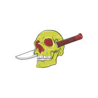 Skull Vector Clipart 8-6 Clip Art - SVG & PNG vector
