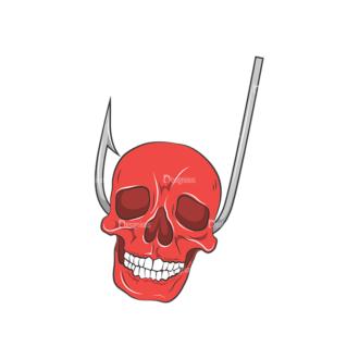 Skull Vector Clipart 8-7 Clip Art - SVG & PNG vector