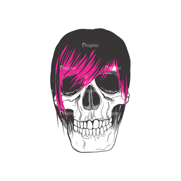 Skull Vector Clipart 9-4 Clip Art - SVG & PNG vector