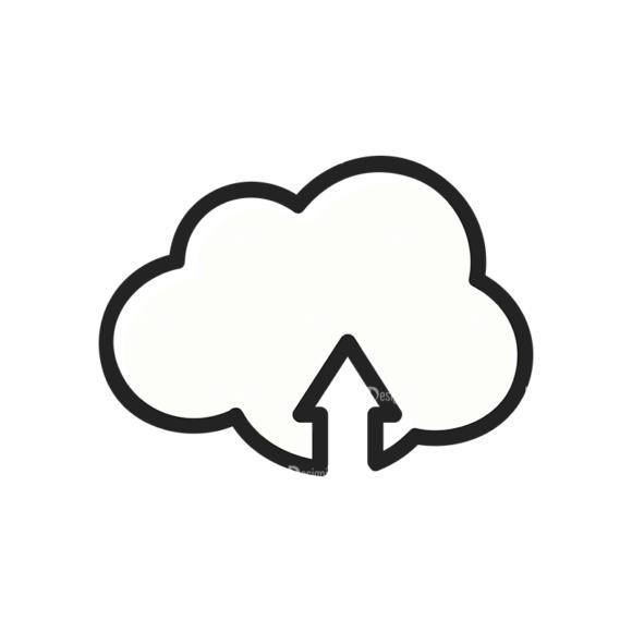 Social Media Doodle Vector Set 5 Vector Cloud 1