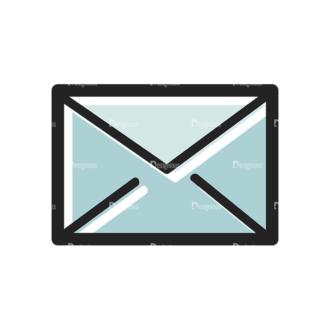 Social Media Doodle Vector Set 5 Vector Message Clip Art - SVG & PNG vector