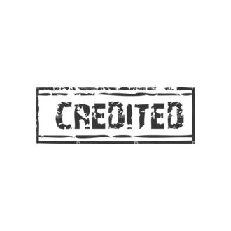 Stamp Vector 1 45 Clip Art - SVG & PNG vector