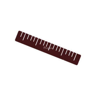 Stationary Vector Elements Set 1 Vector Ruler 05 Clip Art - SVG & PNG vector