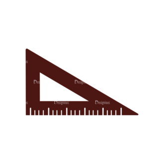 Stationary Vector Elements Set 1 Vector Ruler 07 Clip Art - SVG & PNG vector