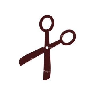 Stationary Vector Elements Set 1 Vector Scissors Clip Art - SVG & PNG vector