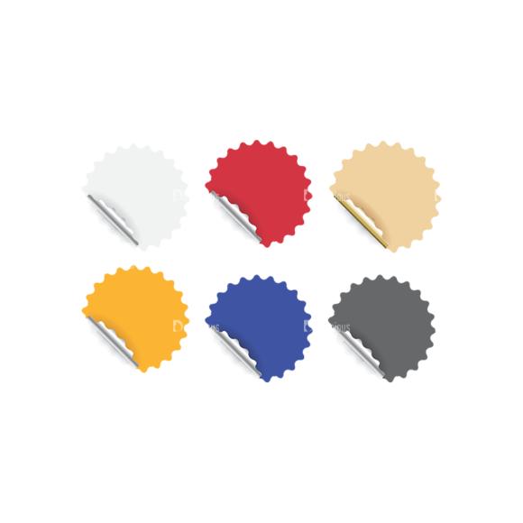 Stickers Vector 2 5 Clip Art - SVG & PNG vector