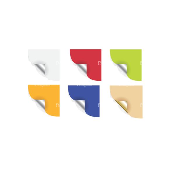 Stickers Vector 2 6 Clip Art - SVG & PNG vector