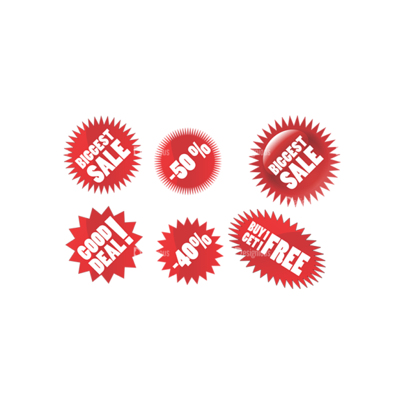 Stickers Vector 4 10 Clip Art - SVG & PNG vector