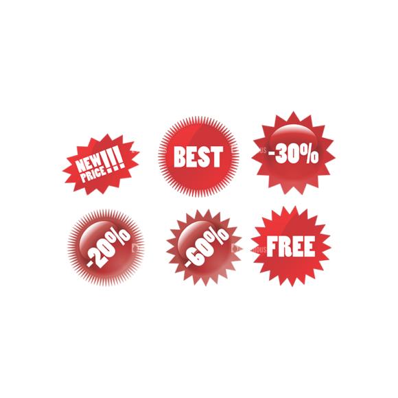 Stickers Vector 4 9 Clip Art - SVG & PNG vector