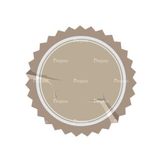 Stickers Vector Sticker Label 08 Clip Art - SVG & PNG vector