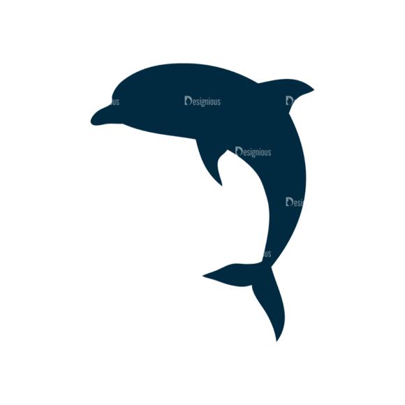 Surf Vector Set 1 Vector Dolphin Clip Art - SVG & PNG vector