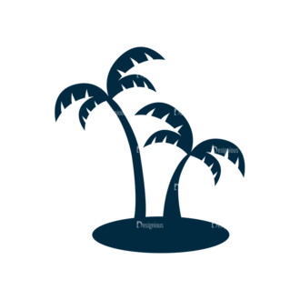 Surf Vector Set 1 Vector Palm Tree Clip Art - SVG & PNG palm