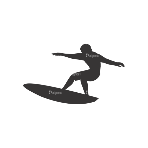 Surfer Silhouettes Pack 1 2 Preview surfer silhouettes pack 1 2 preview