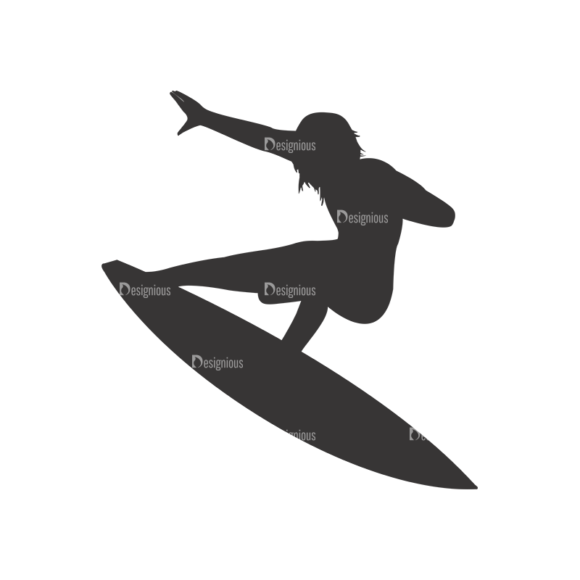 Surfer Silhouettes Pack 1 3 Preview surfer silhouettes pack 1 3 preview