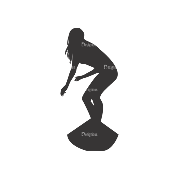 Surfer Silhouettes Pack 1 6 Preview 5