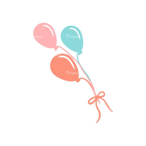 Toys Vector Set 2 Vector Balloons Clip Art - SVG & PNG vector