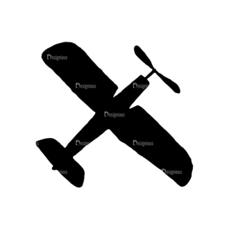 Travel Set 14 Vector Airplane Clip Art - SVG & PNG vector