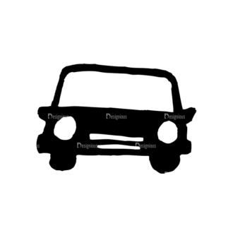 Travel Set 14 Vector Car Clip Art - SVG & PNG vector