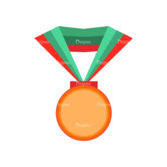 Trophy And Awards Vector Set 1 Vector Medal Clip Art - SVG & PNG vector