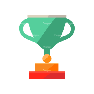 Trophy And Awards Vector Set 1 Vector Trophy 10 Clip Art - SVG & PNG vector