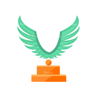 Trophy And Awards Vector Set 1 Vector Trophy 12 Clip Art - SVG & PNG vector