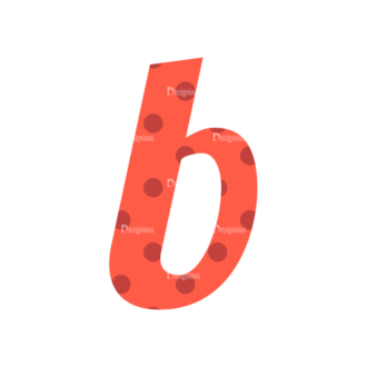 Typographic Characters Vector Set 3 Vector B Clip Art - SVG & PNG vector